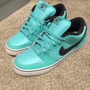 Tiffany Blue Nike Skater Sneakers